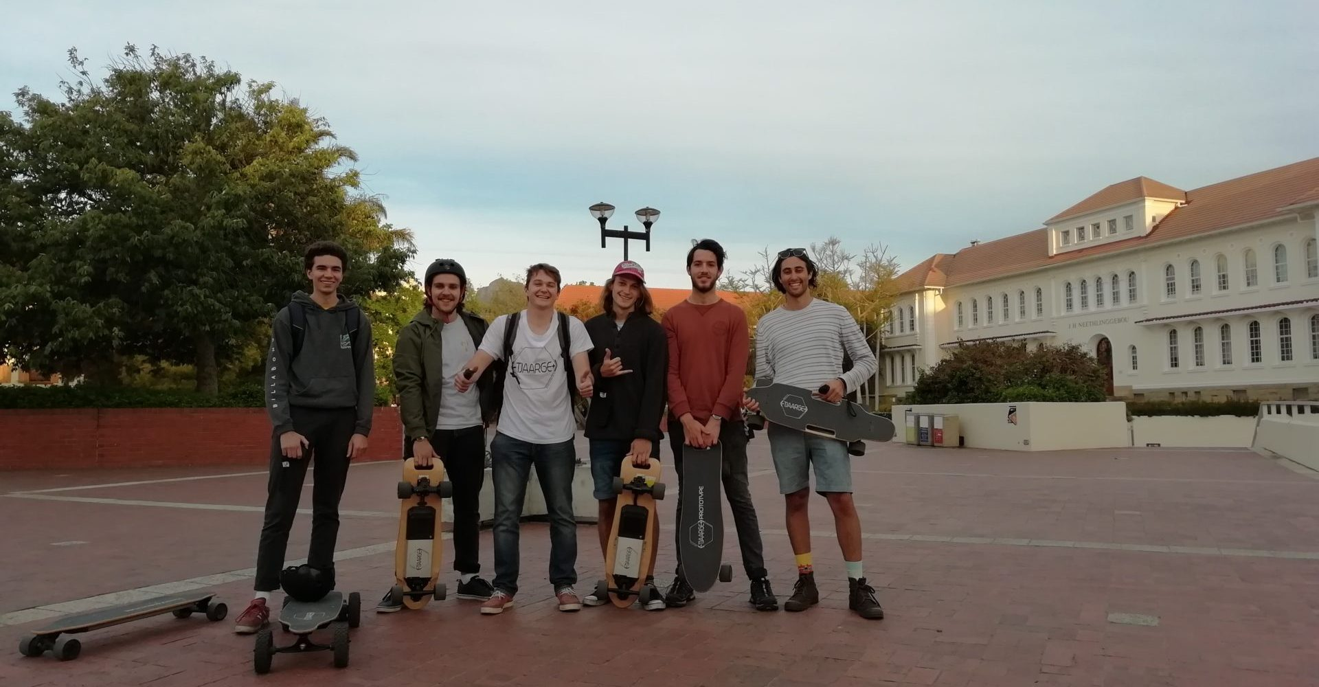 Esk8 Group Ride Stellenbosch Tjaarge Electric Skateboard